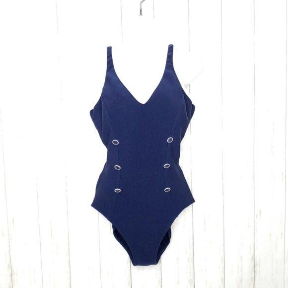 Vintage 60s One Piece Bathing Suit Vintage Maillot 60s Swim Romper